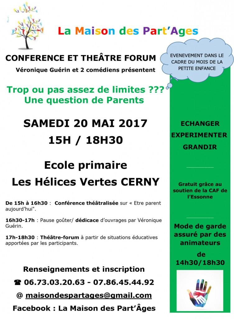 Affiche Théâtre forum mai 2016 - copie